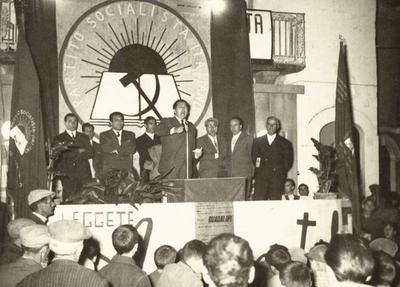 38° anniversario dell'assassinio di Giuseppe Di Vagno. Intervento dell'on. Mario Marino Guadalupi alla cerimonia commemorativa in Piazza XX Settembre a Conversano