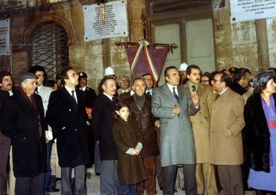 62° anniversario dell'assassinio di Giuseppe Di Vagno. Cerimonia commemorativa svoltasi a Conversano
