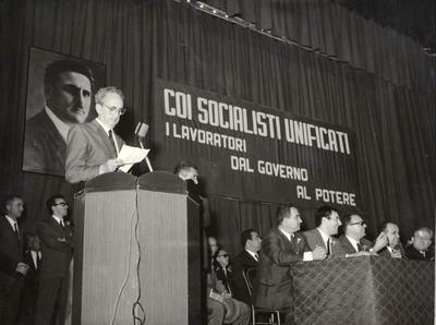 45° anniversario dell'assassinio di Giuseppe Di Vagno. Manifestazione al Teatro Petruzzelli di Bari