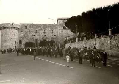 45° anniversario dell'assassinio di Giuseppe Di Vagno. Manifestazioni svolte a Conversano (servizio dello studio fotografico Lucio Brandi)