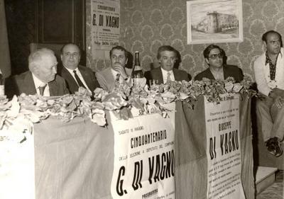 50° anniversario dell'elezione a deputato di Giuseppe Di Vagno. Cerimonia commemorativa svoltasi presso la sala consiliare di Conversano