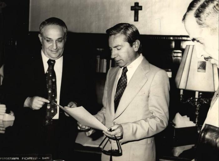 Domenico Macchia, sindaco di Conversano, 1978